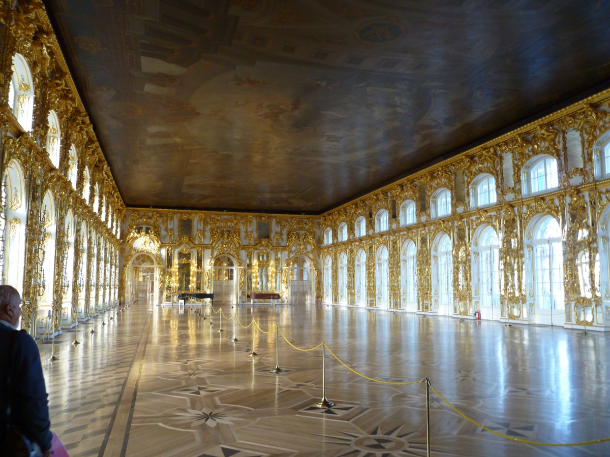 The grand ballroom catherine palace pushkin